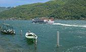 Morcote, Lago di Lugano, Tessin, Schweiz