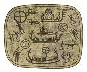 shamanic petroglyph