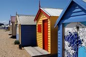 Colorful Beachhouses