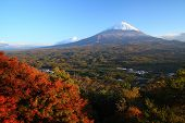 image of mount fuji  - View of Mt - JPG