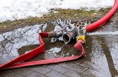 stock photo of firehose  - Fire Hydrant three - JPG