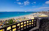 The Playa Blanca Beach