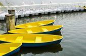 Yellow Rowing Boat