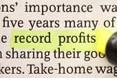 Record Profits