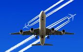 Heavy traffic in the air