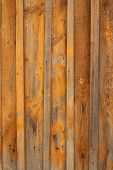 The Background From Old Painted Planks Of The Fence