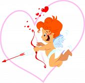 Cupid With Bow
