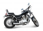 Black Motorcycle On White