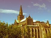 Retro Look Glasgow Cathedral
