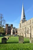 Hadleigh Church and Deanery Tower
