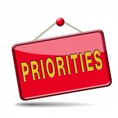 priorities important very high urgency info lost importance crucial information top priority icon st