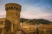 Tower of Vila Vella fortress, Tossa de Mar