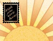 Постер, плакат: Солнце и печать