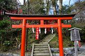 Torii Entrace In Shrine