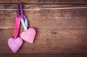 Crochet lovely hearts