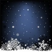 dark blue snow mesh background