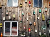 Lobster Buoys, Maine