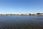 Porto Seguro - Bahia, Brasil - View of its horizon from water.