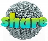 Share Word Email Symbol Sign Sphere