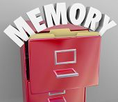Memory Filing Cabinet Recall Retrieve Memories