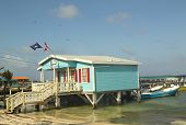 Diving Shop in San Pedro, Belize