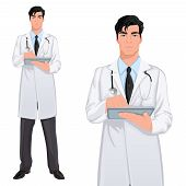 Yong man doctor