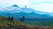 stock photo of andes  - Ilinizas Andes - JPG
