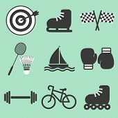 List of sports related icons