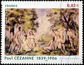 Cezanne Stamp