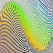 picture of distort  - Design colorful swirl circular movement twisted background - JPG
