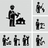 picture of engineering construction  - Construction worker - JPG