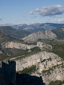 The Gorges Du Verdon The Famous Canyon In Alpes-de-haute-provence, France
