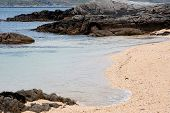 stock photo of galway  - Beautiful view on Coral Beach Carraroe Co. Galway Ireland