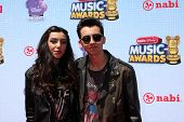 LOS ANGELES - APR 26:  Brandon and Savannah at the 2014 Radio Disney Music Awards at Nokia Theater o