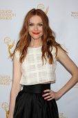 LOS ANGELES - APR 23:  Darby Stanchfield at the 35th College Television Awards at Television Academy