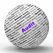 Audit Sphere Definition Means Financial Inspection Or Audit