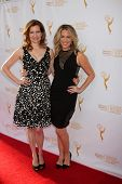 LOS ANGELES - APR 23:  Lennon Parham, Jessica St. Clair at the 35th College Television Awards at Tel