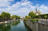 Paris, view of notre dame
