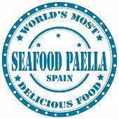 Seafood Paella-stamp