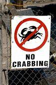 No Crabbing
