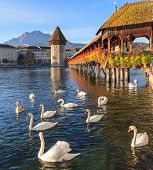 Lucerne, Autumn Morning