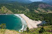Beautiful View Of Ilhabela Tropical Island, Rio Do Janerio, Sao Paulo.