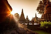 Sukhothai Historical Park, Sukhothai Province, in Thailand