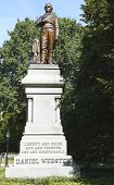 Statue of Daniel Webster in New York