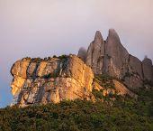 Peak of Montserrat