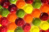 Multi-coloured Hardy Candy Background