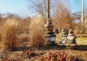 Zen Stacked Rocks