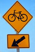Bicycle Lane Road Sign