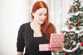 Girl Is Really Unhappy With Gift Box For Christmas