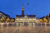 Ladeuze Square Of Leuven In The Evening